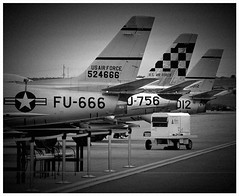 Sabers3794 (heyrod) Tags: bw texas aircraft aviation military jets retro saber f86 aviationart canonef70200mmf4lusm canoneos60d topazlabsplugins pselements9