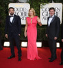 70th Annual Golden Globe Awards held at the Beverly Hilton Hotel - Arrivals Featuring: Ben Affleck (l
