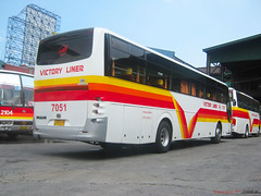 Victory Liner 7051 1st Class (Next Base™) Tags: man bus star model shot suspension diesel 21 1st body deluxe seat engine location terminal tourist victory class number motor re chassis amc corp cubao inc 2x1 liner capacity config 7051 18350 airsuspension almazora hocl d2066loh pbmr39