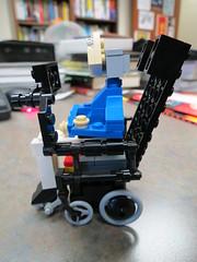 Stephen Hawking Lego (7) (Travelin' Librarian) Tags: lego science custom stephenhawking