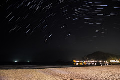 Star Trail @ Redang Beach (unknown_obj) Tags: star timelapse nightscape malaysia redang redangisland startrail redangbeach
