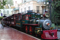 New orleans station Disneyland. (davebloggs007) Tags: new square orleans disneyland trains steam epripley