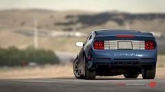 Sound of Fame (FlexibleFelix) Tags: blue reflections desert 4 fame sound forza motorsport saleen s281