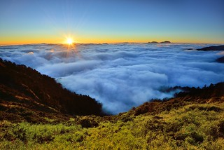 Sea of clouds, Mt. Hehuan @合歡雲海