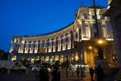 Blue hour (Merlindino) Tags: blue roma hour lazio nationalgeographic notturno 2013 nex6