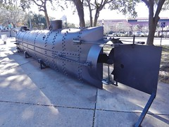 H.L. Hunley (Travis S.) Tags: metal southcarolina first hunley submarine replica charleston recreation propellor rudder hlhunley thecharlestonmuseum