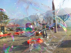 Lugano How to dissapear in abubble 6