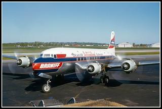 N90883 Braniff International Airways