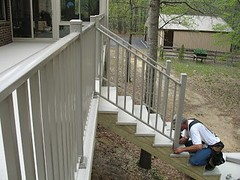 Wahoo Rail can be used as a replacement rail system on an existing deck or used in new construction regardless of the materials that were used to construct the deck.