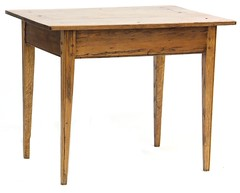 4. Antique Primitive Side Table