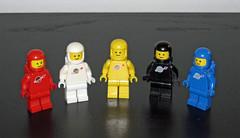 Lego Space Classic minifigures (InSapphoWeTrust) Tags: lego legospace