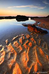 Sand Ripples, Bungan Beach, Sydney (renatonovi1) Tags: sunrise beach sand ripples calm tranquil sydney australia bungan newport