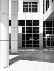 Getty Center (Maciek Lulko) Tags: getty gettycenter architecture architecturephotos architektura architektur architettura arquitectura archidose architekturawspczesna contemporaryarchitecture richardmeier meier losangeles nikon nikond800 d800 tamron1530 tamron california californiaarchitecture modernism modernarchitecture modernismarchitecture blackandwhite mini minimalism monochrome bw building museum art