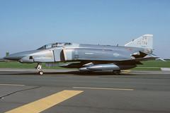 69-370-1-EGXW-APR1990 (Alpha Mike Aviation Photography) Tags: united states air force usaf us mcdonnell douglas f4 rf4 rf4c phantom 69370 raf waddington egxw