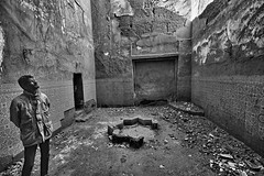 What Remains (ott.geoffrey) Tags: kasbah tamdaght morocco man ruin broken rundown