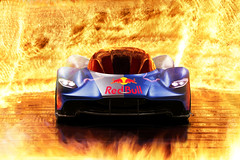 AM-RB 001 Born to Ignite (Nike_747) Tags: naksphotographydsign amrb 001 born ignite astom martin red bull great britain austria supercar hypercar super hyper car sportscar sport class exotic rare luxury color auto racing roadlegal track fighter fire hell flames wall flame heat reflection blue gray yellow white black carbon fibre limited edition f1 performance v12 v 12