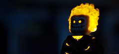 Vengeance (delgax) Tags: lego toyphotography toy toys delgax miniature minifigure minifigures minifig marvel comic comics comicbook movie stanlee ghostrider johnnyblaze fire scale small