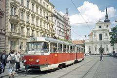 1999-05-12 Brno Tramway Nr.1085 (beranekp) Tags: czech brno brünn tramway tram tramvaj tranvia strassenbahn šalina elektrika električka tatra 1085