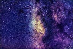 Le bulbe de la voie lacte (Sebastien JACQUES) Tags: milkyway ciel etoiles 50mm nuit voie lacte