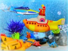 Undersea Encounters (MiskatonicNick) Tags: konami gerryanderson stingray thunderbirds thunderbird4 macfarlanetoys yellowsubmarine thebeatles toys