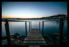 __I I I=I I I__ (Kevin HARWIN) Tags: spain spanish roses water sea beach sand long exposure sunset blue sky orange wood canon eos 70d sigma 1020mm lens