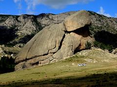 Turtle rock (MelindaChan^^) Tags: mongolia  chanmelmel mel melinda melindachan travel terelj national park desert sand