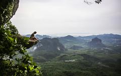 (Darina_Chu) Tags: thailand aroundtheworld krabi sky nature travel adventure viewpoint view climbing tourism canon outdoor landscape hill mountainside mountain