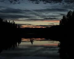 Silence (Sitrusphoto) Tags: vann leirsjøen skyer speiling fiskevaking vak trondheim norge norway pink sky silence natur nature