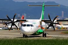 UNI Air ATR72-600 B-17007 (Manuel Negrerie) Tags: b17007 uniair evergreen eva air atr72 atr atr72600 regional carrier spotting aircraft turboprops avions transport songshanairport airport taiwan taipei taxiway