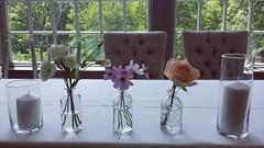head table 02 (Flower 597) Tags: weddingflowers weddingflorist centerpiece weddingbouquet flower597 bridalbouquet weddingceremony floralcrown ceremonyarch boutonniere corsage torontoweddingflorist