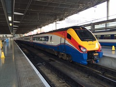 222002 London St Pancras 15.5.16 (Alan Bark) Tags: 222002 london st pancras 15516
