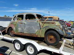 swap meet cars 20 (bballchico) Tags: swapmeet forsale goodguys 1937 ford sedan