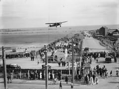 156; The Southern Cross taking off from Rongotai Aerodrome - 1933 (Wellington City Council) Tags: wellington historicwellington 1800s 1900s 1950s