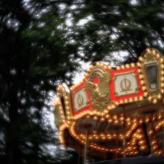 In my dream #1 (Masahiko Kuroki (a.k.a miyabean)) Tags: square colour xe1 velvet56 lensbaby    merrygoround