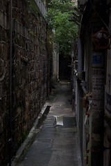 Hongkong (Jil Kristin) Tags: hongkong central backlane stool nature contrast digital canon