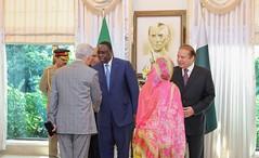 Visite officielle du Prsident Macky Sall  Islamabad (Rpublique du Sngal) Tags: macky sall senegal islamabad pakistan vo nawaz sharif