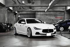Maserati Ghibli-S|Maserati Ghibli-S Hyperforged MadeinJapan (HYPER FORGED) Tags: maserati ghibli bondshoptokyo hyperforgedwheels concavewheel madeinjapan highquality highperformance a6061 brushed hyperforged pirelli