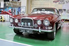 1961 Jaguar MKX (crusaderstgeorge) Tags: 1961jaguarmkx 1961 jaguar mkx redcars motormuseumlondon london cars classiccars british crusaderstgeorge