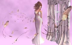El amor no duele (Sophia Paez) Tags: campaa no me toques amor avatar mm doll butterflies pink dress modeling modelling mesh model fashion paez kandygift sophia sophiapaez secondlife summer sl second sexy blog blogger gown