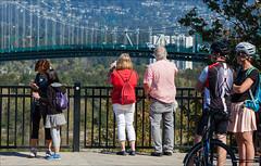 Prospect Point (Clayton Perry Photoworks) Tags: vancouver bc canada summer explorebc explorecanada stanleypark people lionsgatebridge prospectpoint bridge