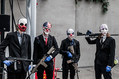 Payday (Javlamusik) Tags: payday cosplayer cosplay clown clowns comic con comicon 2016