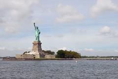 Liberty Island (markusOulehla) Tags: rivertour libertyisland statueofliberty nyc newyorkcity markusoulehla nikond90 citytrip thebigapple usa manhattan