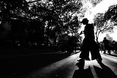 """has she disappeared, is she really gone for good?.."" - New York City (Bekim Nela) Tags: nyc manhattan washingtonsquarepark streetphotography greenwichvillage urban bw blackandwhite highcontast contrast people city sonyalpha newyork newyorkcity silhouette"