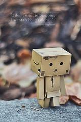 (FTMH) Tags: walking amazon alone sad lonely danbo leav