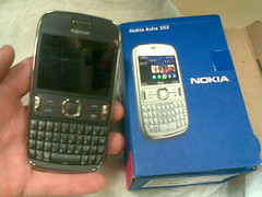 New phone! Nokia Asha 302