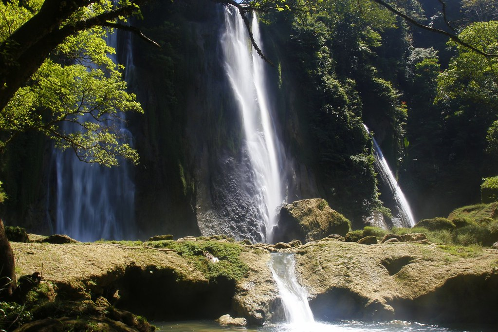 Waterfall, Ujung Genteng, West Java, Indonesia