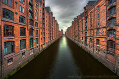 Speicherstadt Block N (mlphoto) Tags: city houses sky cloud house building architecture clouds buildings river germany deutschland europa europe cityscape pentax hamburg himmel wolken sigma haus wideangle explore architektur ww hdr huser weitwinkel uww ultraweitwinkel k20d pentaxk20d mlphoto sigma816 mlphoto markuslandsmannzenfoliocom markuslandsmann mlandsmann