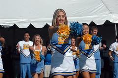 DSC_6105 (bruin805) Tags: cheerleaders ucla bruins rosebowl danceteam spiritsquad utahutes pac12