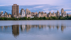 "The Upper East Side, best viewed on black, press ""L"" (LKungJr) Tags: nyc panorama newyork skyline reflections centralpark manhattan reflexions resevoir uppereastside jacquelinekennedyonassisreservoir centralparkresevoir mygearandme fujixpro1 rememberthatmomentlevel1 fujixf35mm"