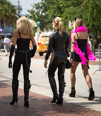2012-10-13 5DIII Glam-A-Thon FtLauderdaleFL 473 (James Scott S) Tags: street charity pink costumes ladies girls urban woman usa 3 sexy canon scott fun eos james is glamour women breasts doll breast legs florida fort mark candid united iii cancer tammy parade lauderdale heels l glam 5d ft gail fl states usm cleavage dslr awareness ef journalism strut skirts donate cause 70300 charitable f456 glamathon
